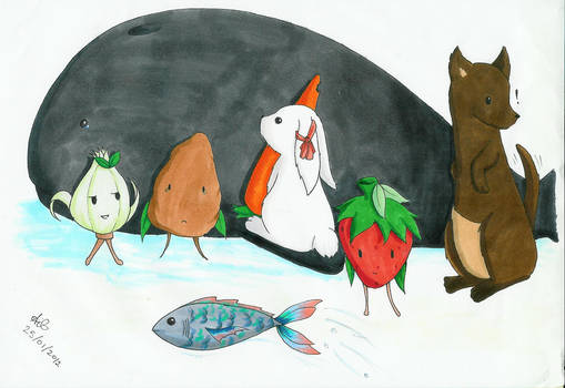 The animal and food family?