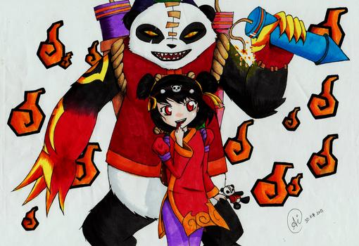 Bloody Pandas