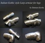 Italian job: plate leg armour by Kretualdo