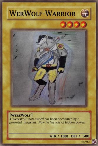 Tiger Warrior Yugioh