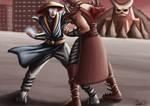Raiden VS Shao Kahn