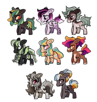 wow so many colors adopts closed by Pegalsus