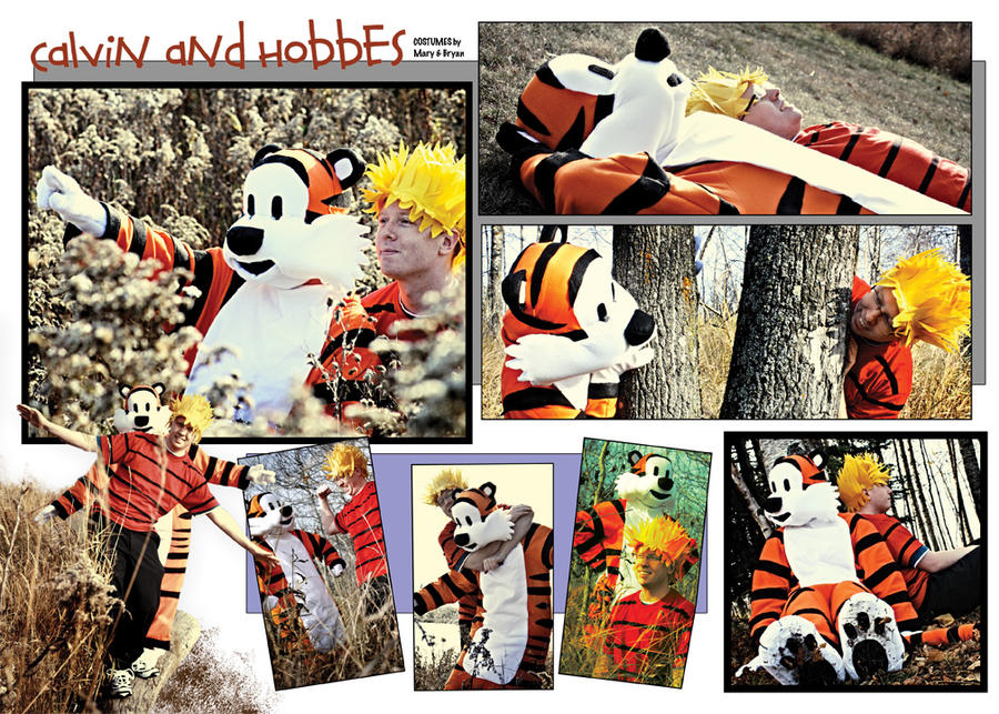 Calvin and Hobbes Costumes by estranged-illusions