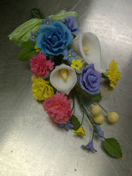 My first floral spray :)