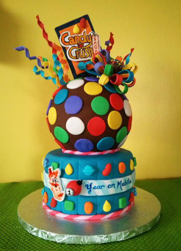 Candy Crush Cake by estranged-illusions