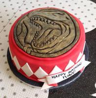 Power Rangers Cake - Red Ranger
