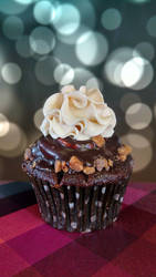 Toffee Coffee Cupcakes