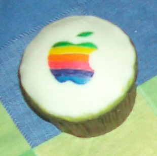 Apple Cupcake by estranged-illusions