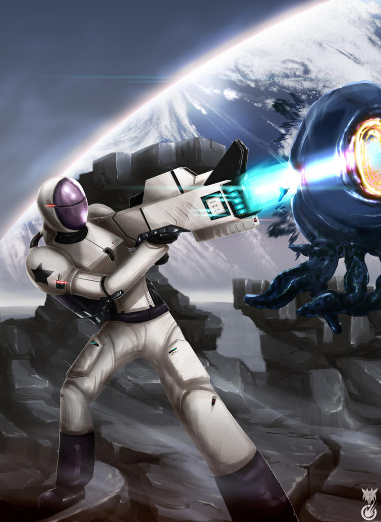 Edge Of Space: Jelly Killer by SteelJoe
