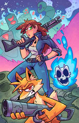Franklin and Ghost 3 Cover