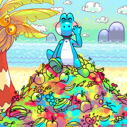 Yoshi's Paradise by Kojireru