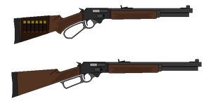 Lever - Action Rifle by PychoticMan244