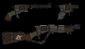 Rudimentary Wasteland Revolver