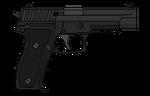 SIG Sauer P226 by PychoticMan244