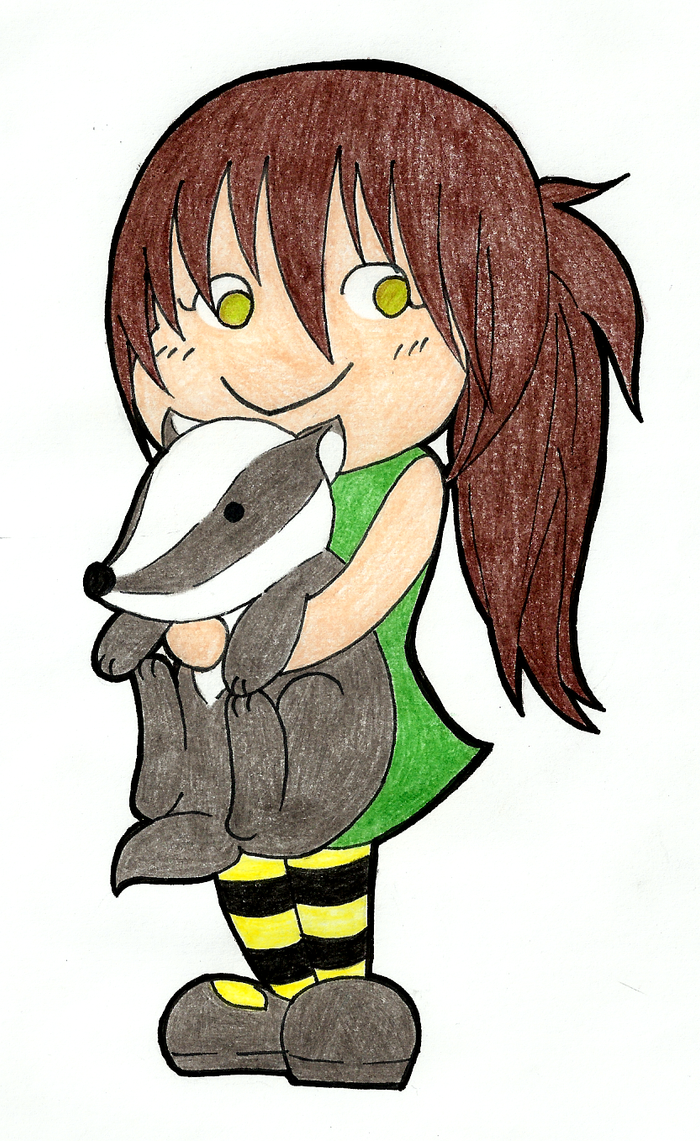 Hufflepuff Badger by yomaka