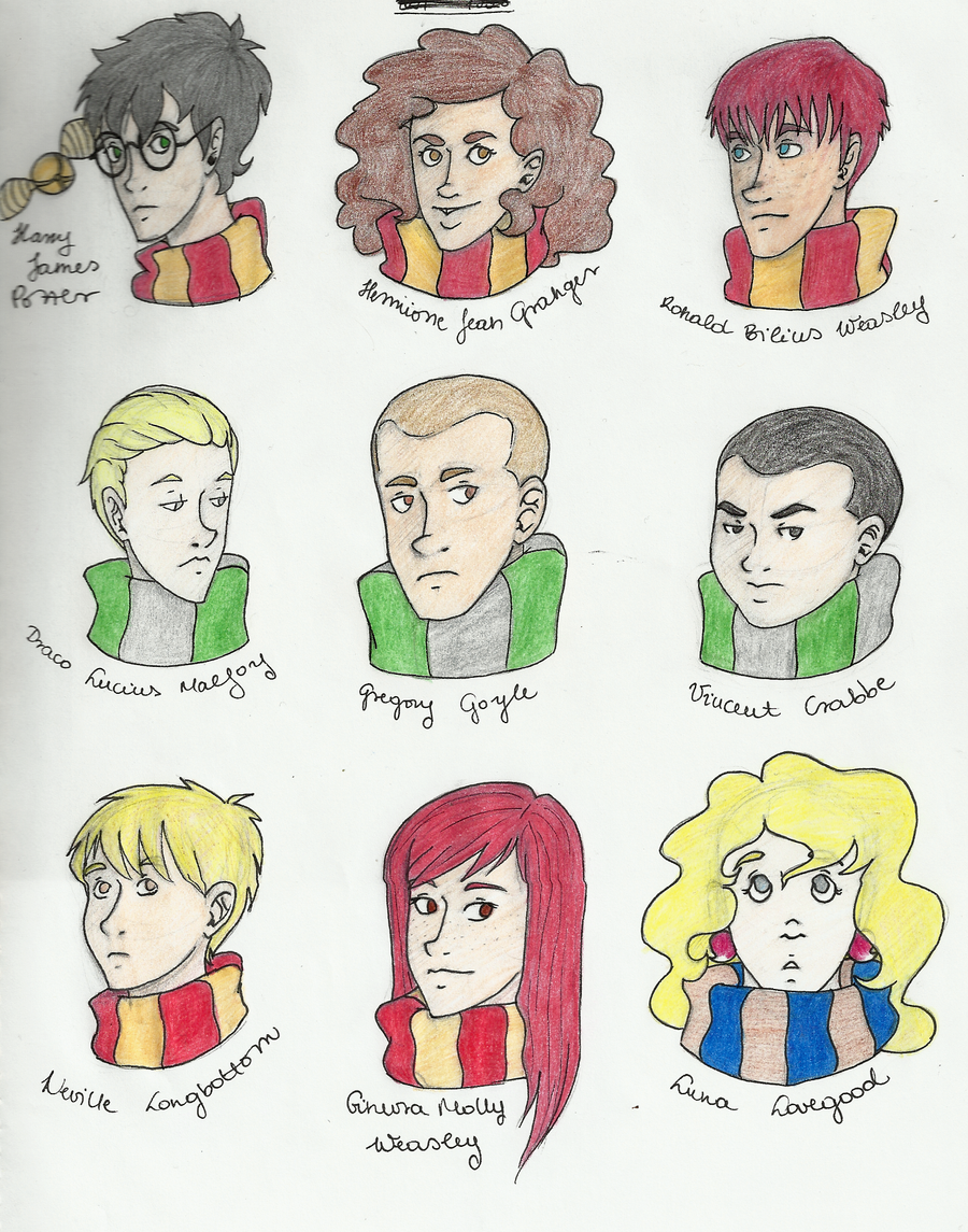 Harry Potter Album I. by Nadalien
