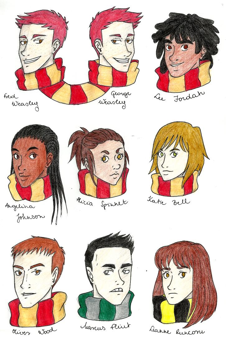 Harry Potter Album II. by Nadalien