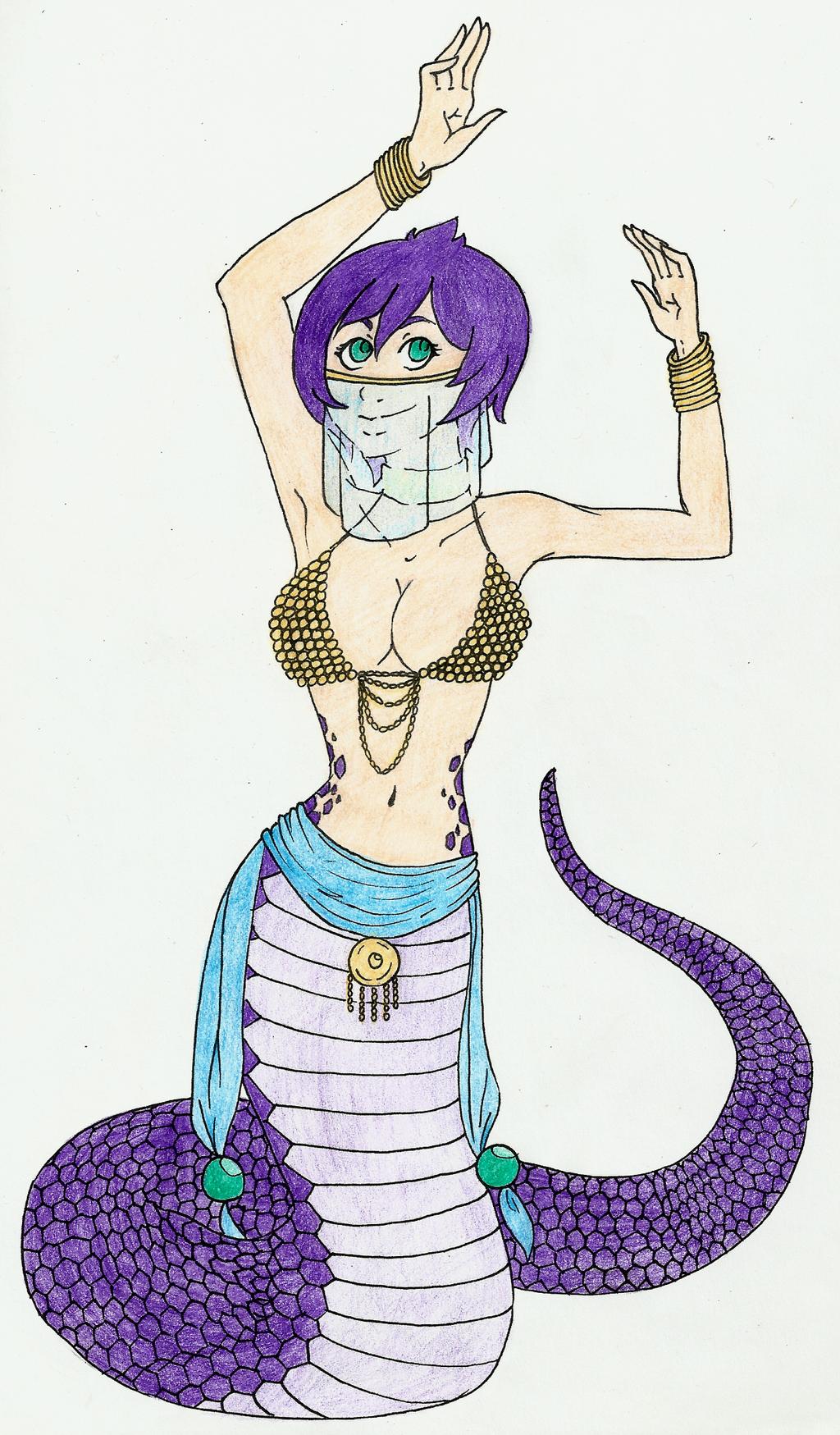 The Snake Charmer by Nadalien