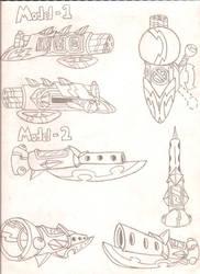 High Roller Gun Schematics by FritzyMagpies