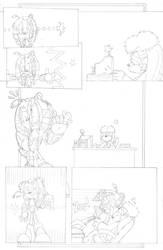 Dead is Dead - Page 4 (pencils) by FritzyArtCorner