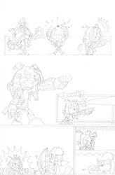 Dead is Dead - Page 5 (pencils) by FritzyArtCorner