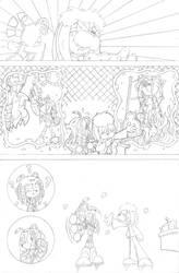 Dead is Dead - Page 7 (pencils) by FritzyArtCorner