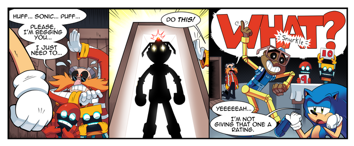 Off-Panel #3 - Eggman's Secret Weapon