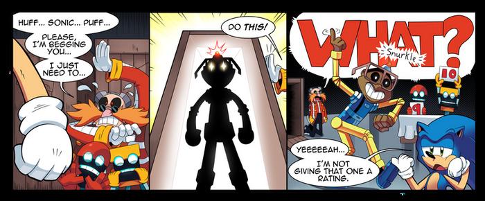 Off-Panel #3 - Eggman's Secret Weapon