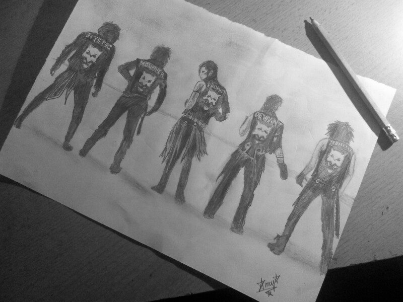 The Wild Ones- Black Veil Brides by BloodyRose123123