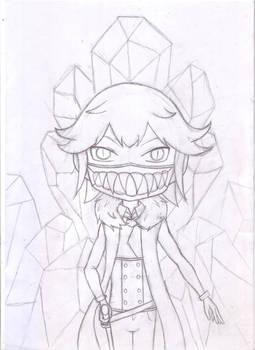 Nir : Ghost Warg - Sketch version