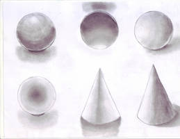 Back to basic : shading- spheres and cones