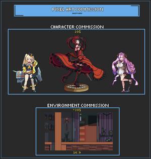 Pixel Art Commission [OPEN]