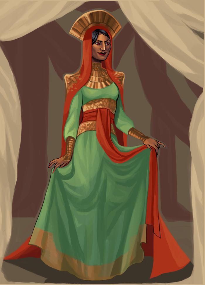 Miss OC Pageant - Yasirah, Round 1 by Spesiria