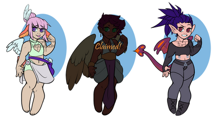 Angelic Adopts ( 2/3 Open ) Reduced Price by turb0fox
