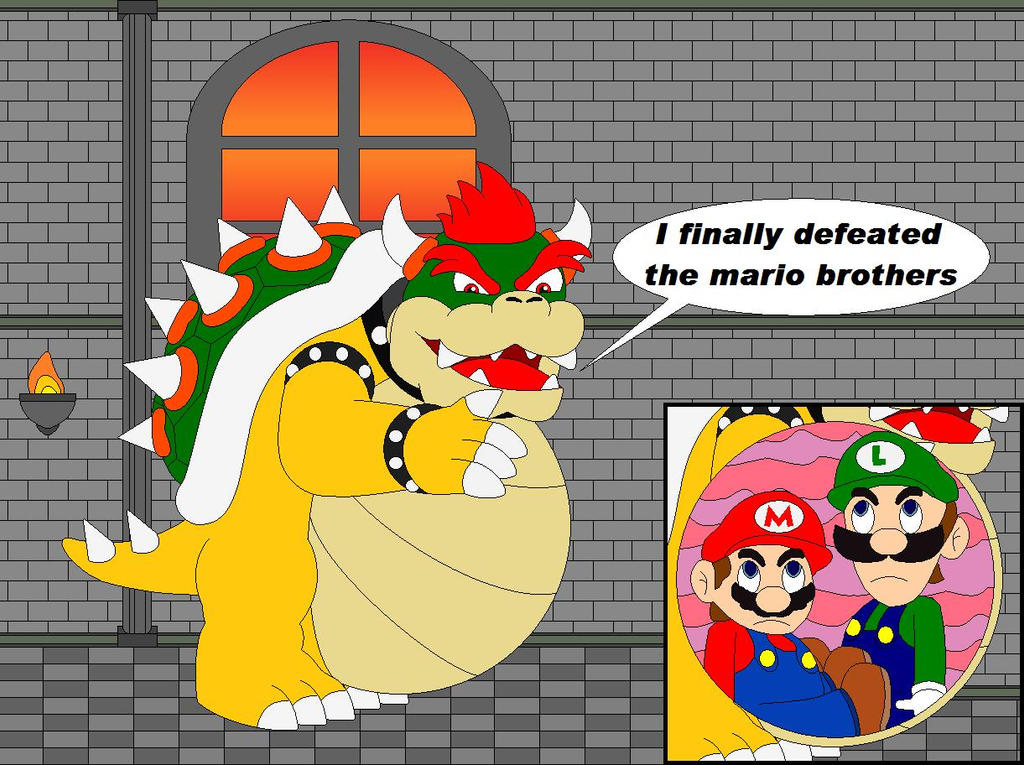 Bowser wins by EuphoricPrincess