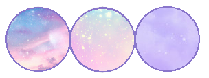 Pastel Galaxy Divider - Scrap by RavenDaAlicorn