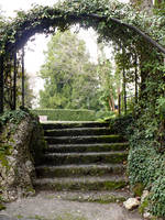 Steps under Archway_Stock by MJ84-StockPhotos