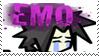 Emo Sasuke STAMP by diamond-in-the-ruff