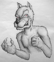 Werewolf by Also-Blius