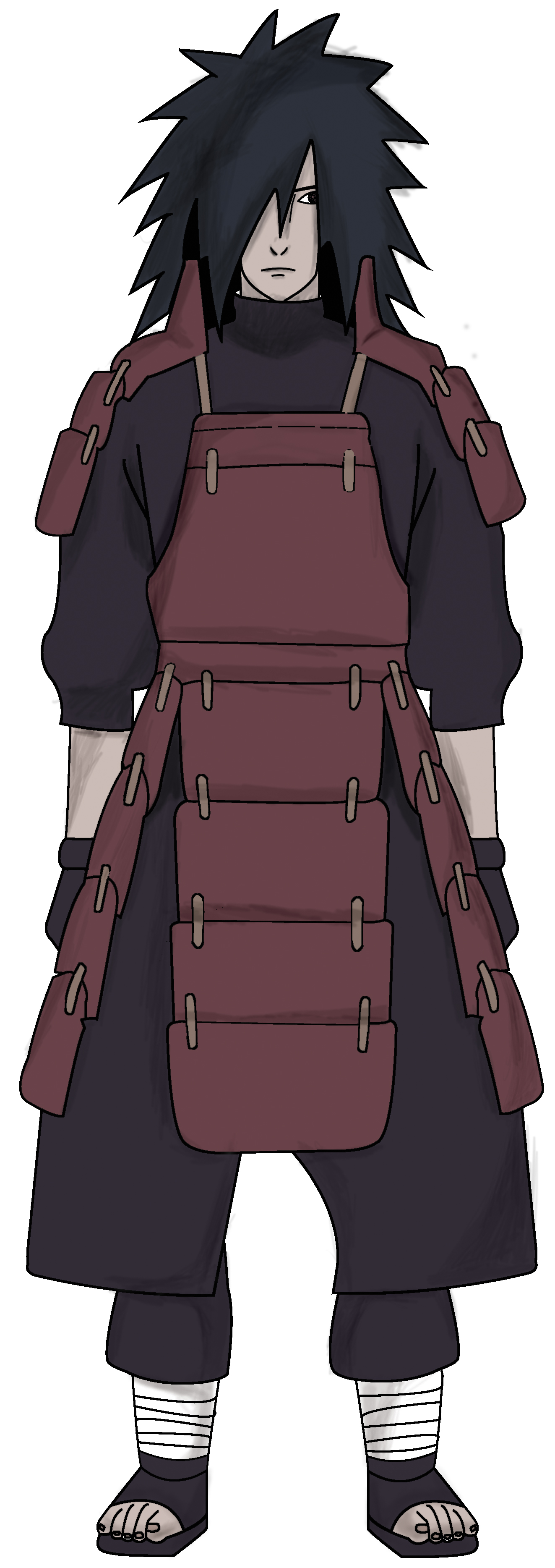 full body Uchiha Madara by Remura50 on DeviantArt
