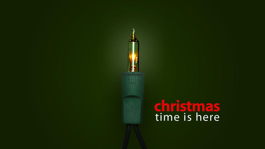 Christmas Light Wallpaper by MacTechieDesign
