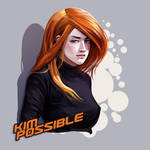 kim possible by vaibhavpawar19