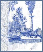 Lord GANESHA by vaibhavpawar19