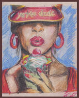 icecreame girl by vaibhavpawar19