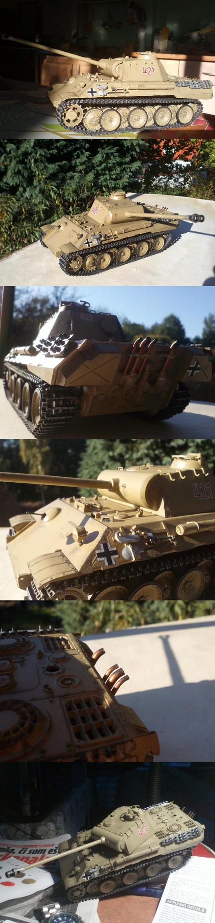 Panther Ausf. A (Tamiya 35065) by Keluuu