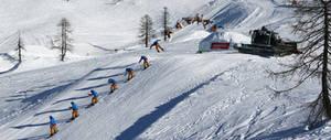 Snowboard sequenz big