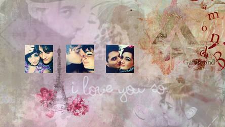 I love u so. by Nunula