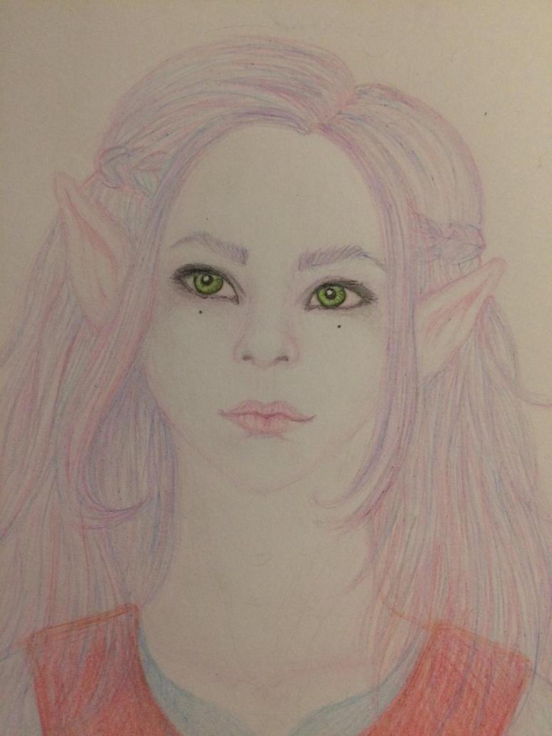 Elf girl by Pandrej