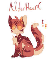AlderHeart #8 by CoatlCuddles