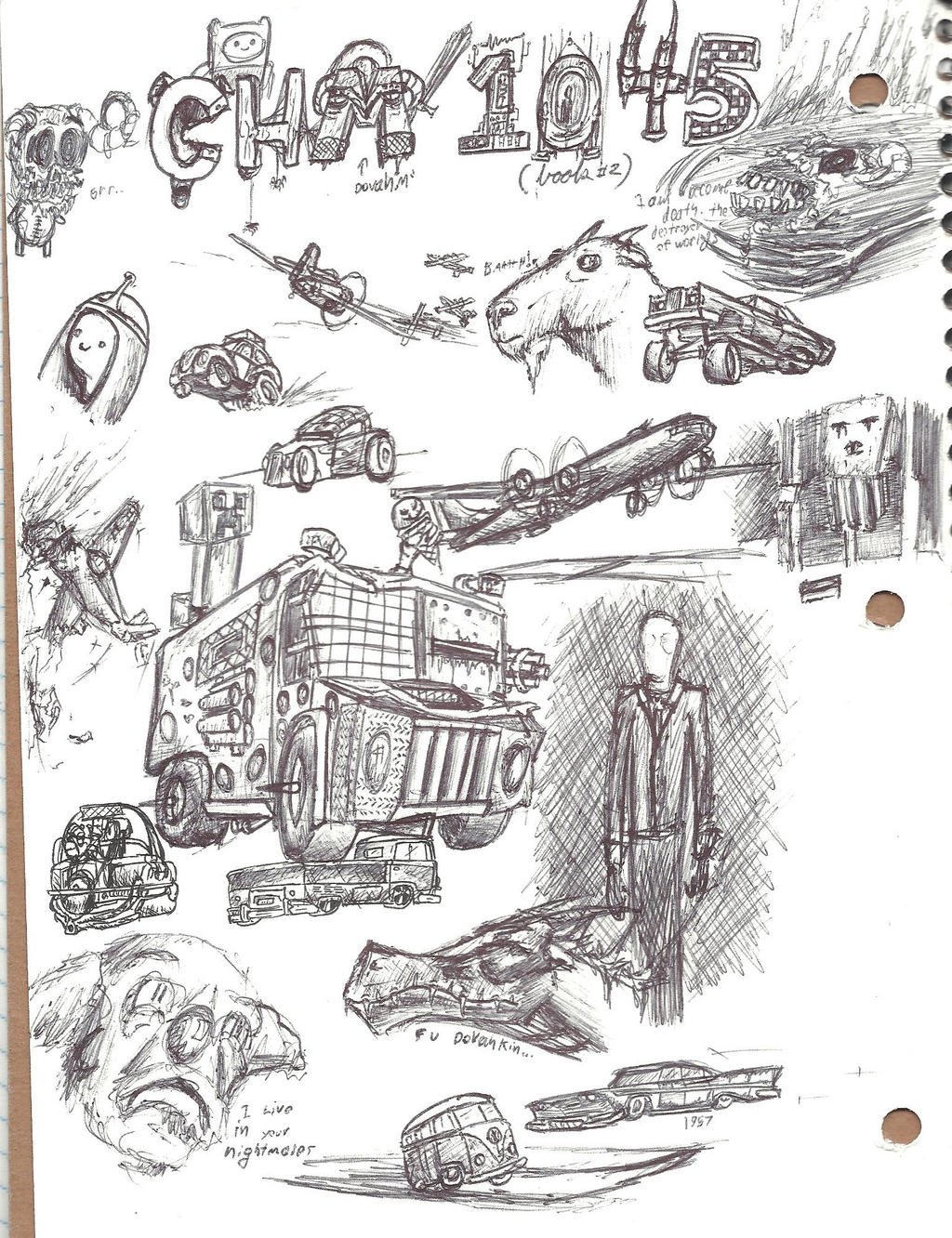chemistry doodle page by mrironmoose on deviantart